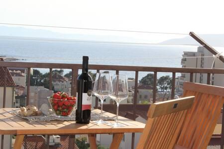 Petra apart. with amazing sea view - Makarska - Apartment