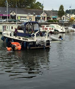 chambre dans bateau fleuroe - Redon