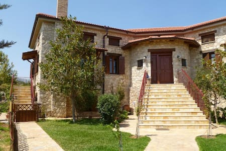 Steliana's sunny happy pool cottage near Athens - East Attica - House