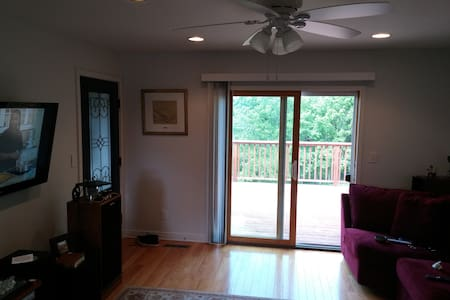 Nicely Furnished 1 bedroom Apartment - Richland Center - Daire