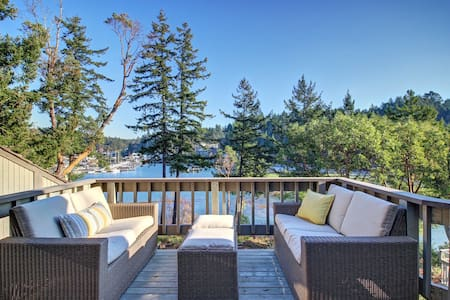 Waterfront Loft at Roche Harbor - Lakás
