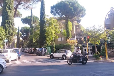 EXTRA-COZY ATTIC IN VERY NICE AREA OF ROME €29 - Rome - Apartment