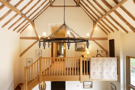 Orchard Barn,SEWELL En-suite double.near MK Woburn - Dunstable  - Bed & Breakfast