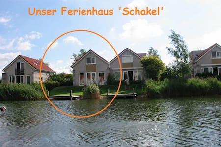 Ferienhaus 'Schakel' am IJsselmeer - Ház