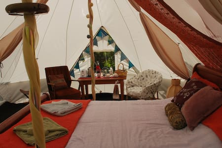 Glamping in a Permaculture Paradise - Pohara