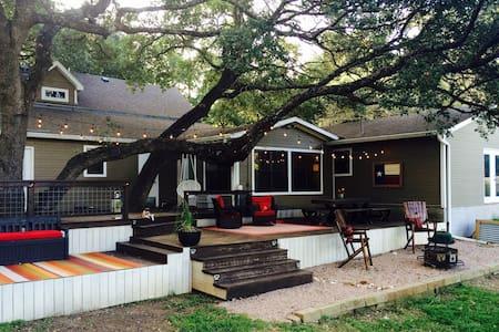 Classic Texas Country Home .48acr Near Lake Austin - House