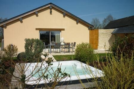 Un petit coin de paradis avec spa - Saint-Germain-de-Livet