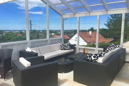 Nice room in a house with a view - Haugesund - Casa