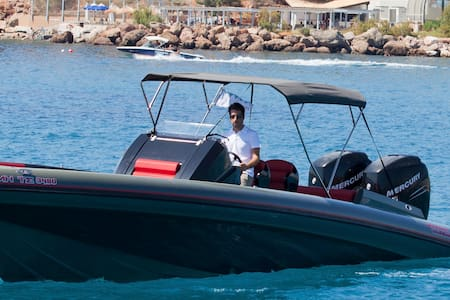 RIB BOAT 10 metres - Notios Tomeas Athinon - Barca