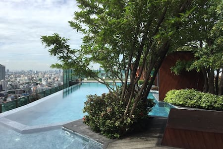 HIGH RISE LUXURY CONDO CLOSE TO MRT - Bangkok