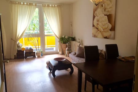 Sunny room with Yoga mat : ) - Berlin - Apartment