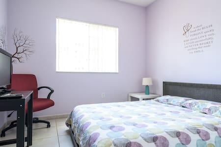 Moderna habitación con baño privado - Doral