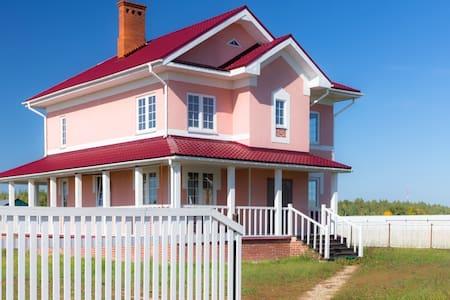 Большой загородный дом со всеми удобствами - Zelentsyno