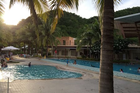 Pico de Loro Club/Hamilo Coast, beachfront condo.B - Nasugbu - Appartement