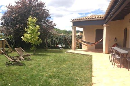Villa calme à 20 min de Montpellier - Saint-Martin-de-Londres