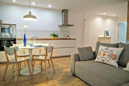 Coqueto apartamento playa+parking - Huoneisto