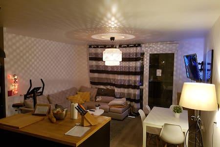Room in 63m2 Big flat-Balcony/2pax/near Paris - Saint-Ouen - Appartamento