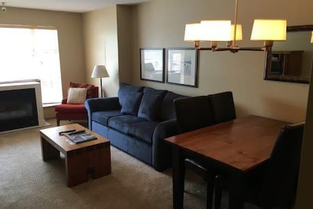 Cozy studio steps from Blackcomb base - Whistler - Appartement en résidence