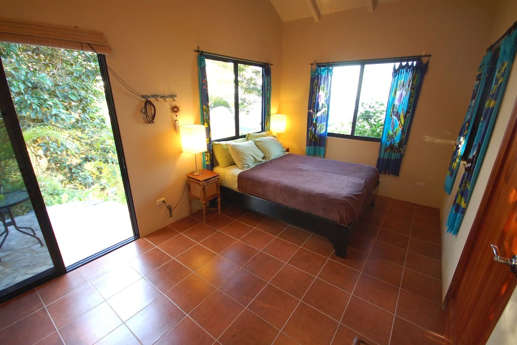 A second private patio located behind the casita