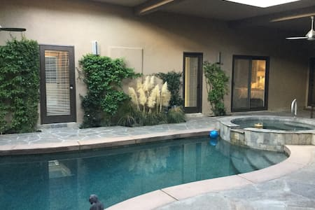 Private 2 bed garden suite pool/spa - 印第安维尔斯(Indian Wells)