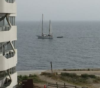 Room in flat next to the ocean, near Aarhus Marina - Daire
