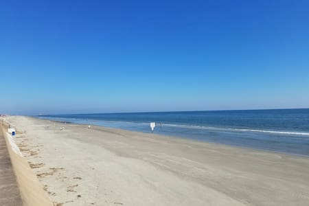 Beachfront complex! WiFi, smart TVs, full kitchen! - Galveston - 公寓