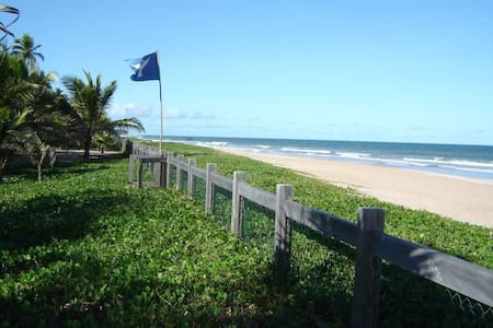 Casa na areia de praia maravilhosa - Busca-vida