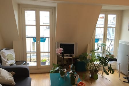 Appartement lumineux et calme au centre de Paris - Paris - Wohnung