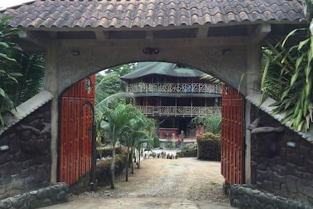 Ecolodge Cabaña Redonda - Rumah