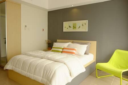 New Studio Apartment for 2 at Bintaro - Kota Tangerang Selatan
