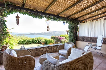 Nice terraced house with amazing sea view - Capo D'orso