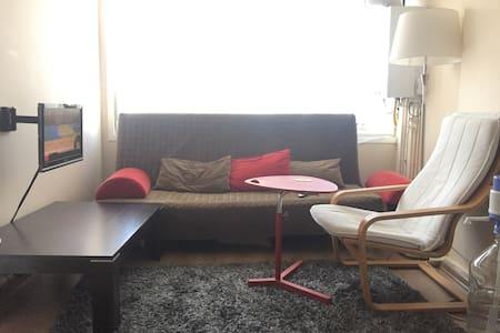Bright, minimal 1+1 flat in Kadıköy Yeldeğirmeni - Kadıköy - Apartment