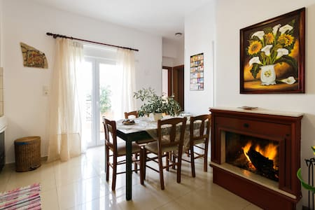 New Modern Apartment 100m from the Beach! - Agia Pelagia - Apartemen