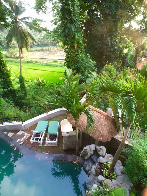 Set right on the edge of Ubud, but seemingly a world away.