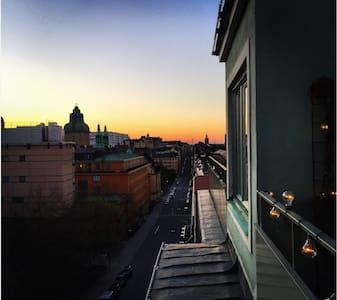 Kungsholmen-Apartment, Balcony, Wifi,close to city - Apartamento