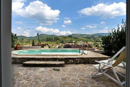 Villa T with pool in Chianti - Greve in Chianti - Villa