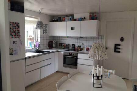 Familievenligt hus &have nær strand - Gilleleje - House