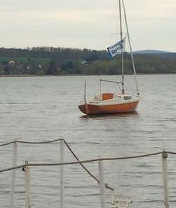 Plachetnice na Jesenicke prehrade - Cheb - Boot