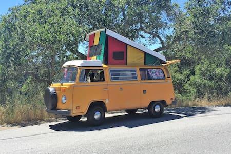 VW Bus - take a trip - Lakókocsi/lakóautó