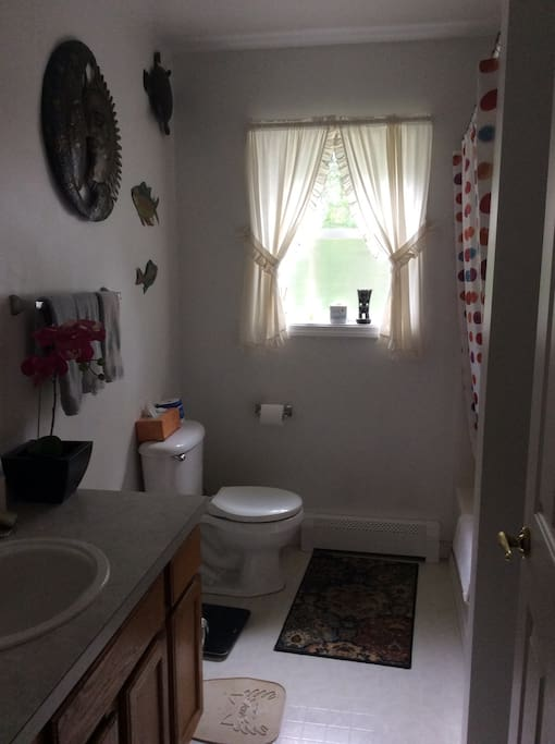 Full bath shared with one other room