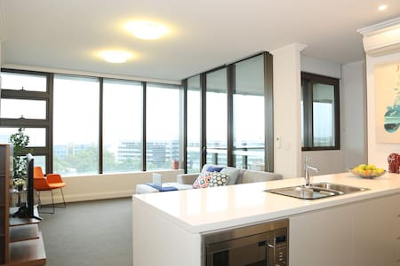 Deluxe two bedroom apartment at Olympic Park - Daire
