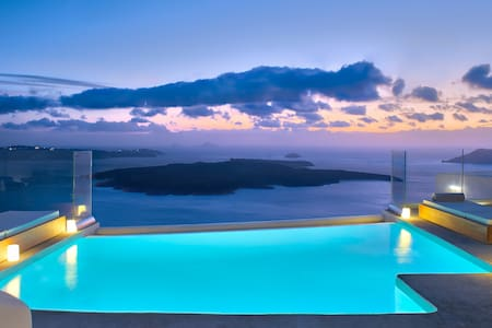 Villa Ioli Anastasia with private infinity pool - Thira