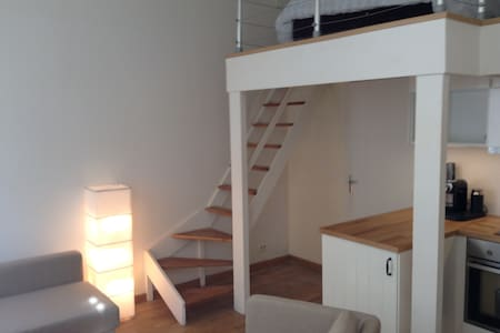 Studio flat mezzanine -center Paris