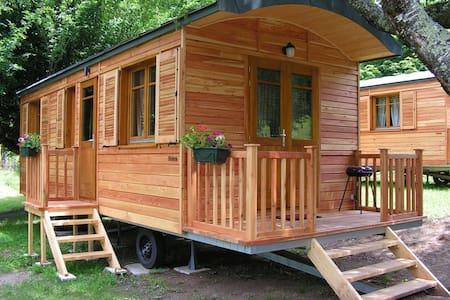 Roulotte tout confort dans notre camping**** - Other