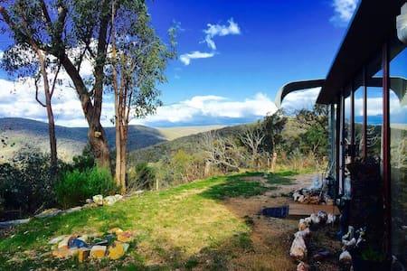 Billyview Retreat Hut - Blockhütte