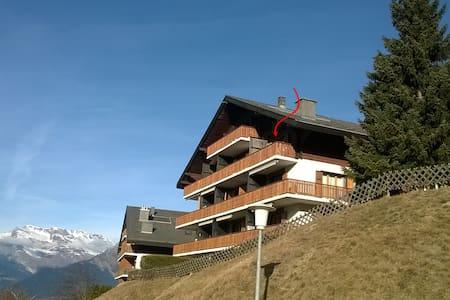 Centraal 3 slaapkamer-app. in groot skigebied - Veysonnaz