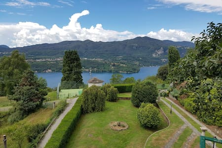 Appartamento Lago d'Orta in hills - Ameno - Wohnung
