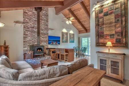 Cozy Tahoe Cabin 10 mins to Heavenly & Lakefront - South Lake Tahoe - Haus