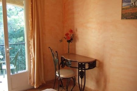 lalibran chambre abricotier - Bed & Breakfast