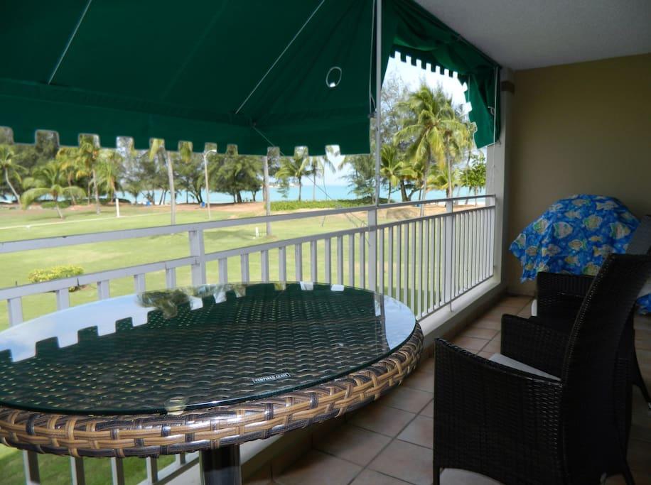 Balcony large seating
